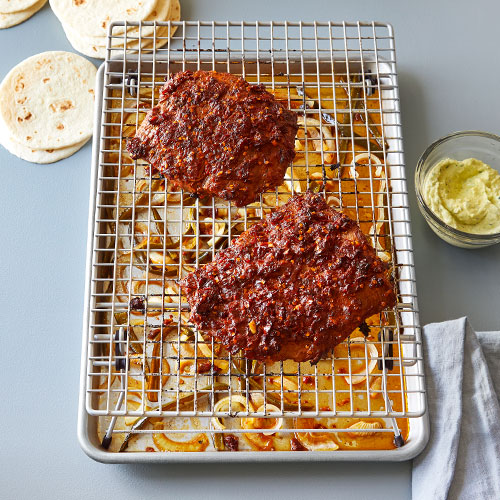 Half Sheet Pan & Baking Rack Set
