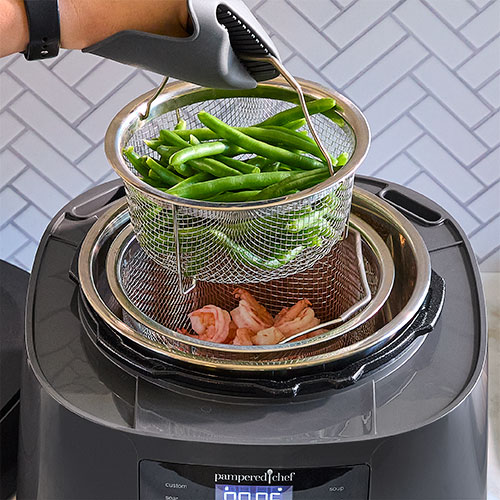 Quick Cooker Steamer Baskets