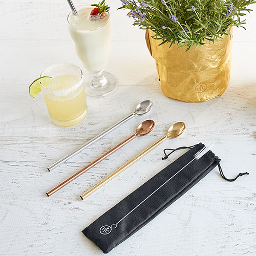 Metal Spoon Straws
