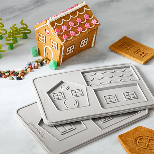 Cookie House Molds