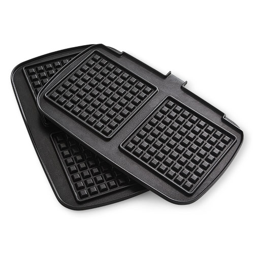 Deluxe Electric Waffle Plates