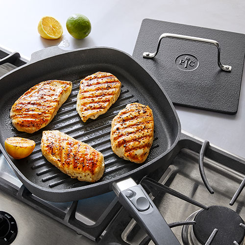 Nonstick Grill Pan & Press Set