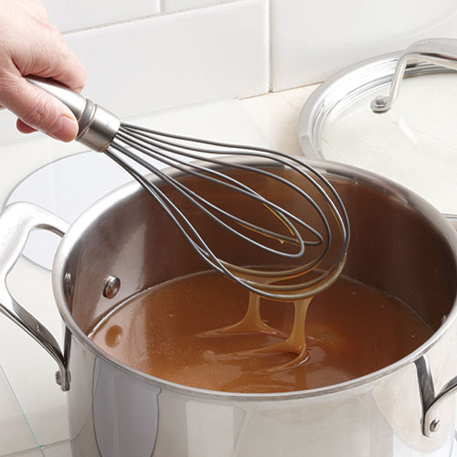 Silicone-Coated Sauce Whisk