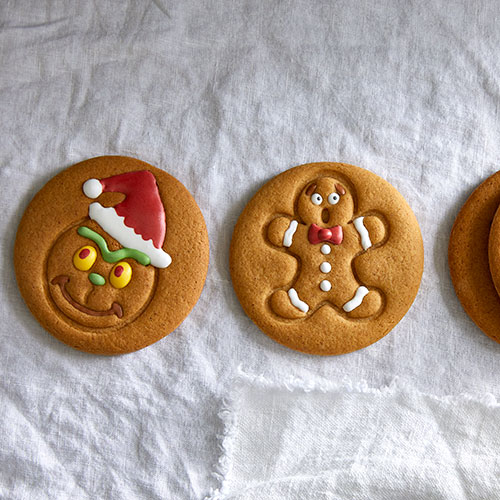 Gingerbread Cookie Faces