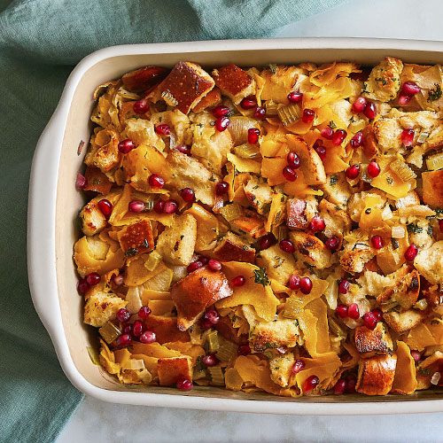 Butternut Squash & Apple Stuffing