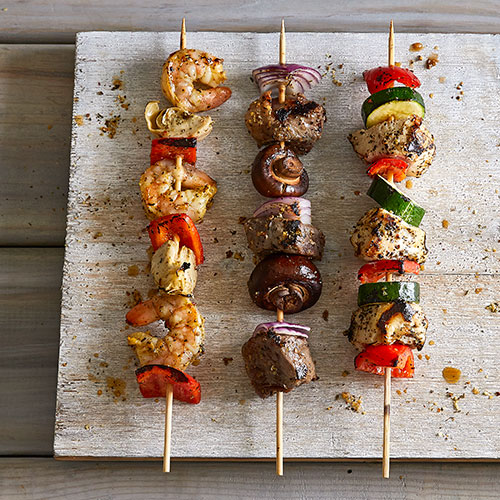 Grilled Kebab Combinations