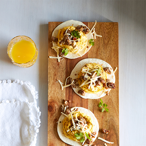 On-the-Go Breakfast Taco