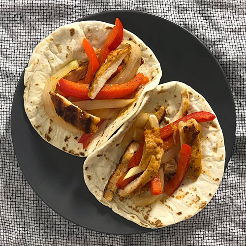 Lunch Hour Chicken Fajita