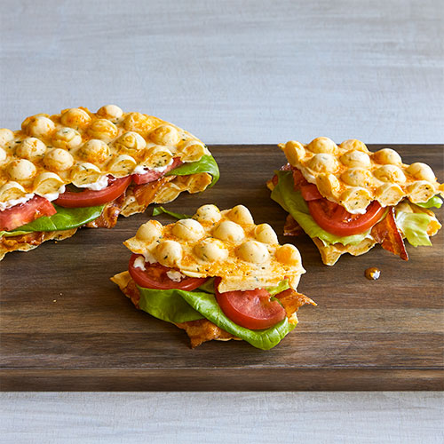 Cheddar & Chive Bubble Waffle BLT