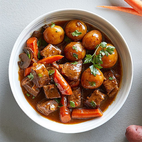 Quick Cooker Beef Bourguignon