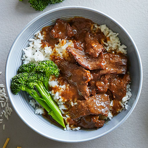 Quick Cooker Ginger Sesame Beef