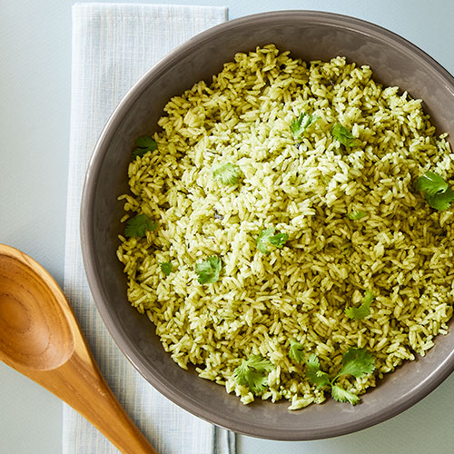 Quick Cooker Cilantro-Lime Rice