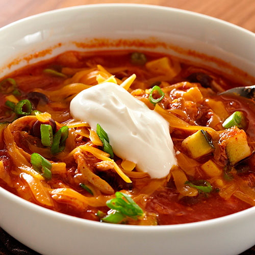 Mexican Two-Bean Chicken Chili