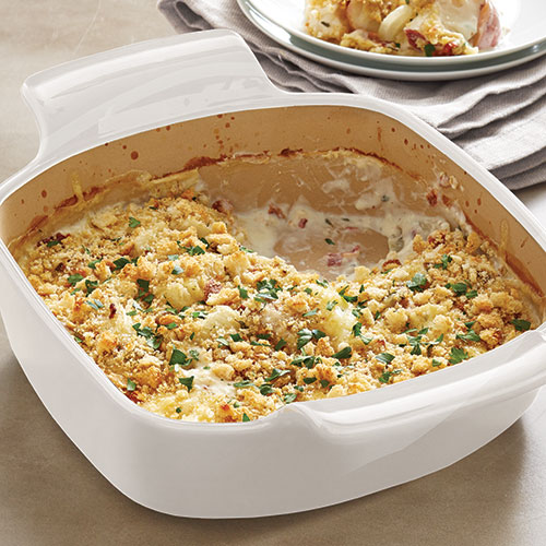 Savory Potato & Onion Gratin