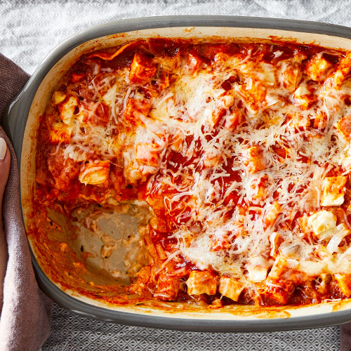 "Mexican Chicken ""Lasagna"""
