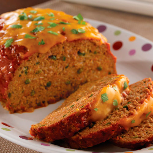 South-Of-The-Border Meat Loaf