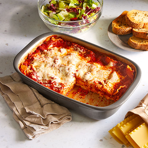 The Easiest Kid-Pleasin' Lasagna Ever