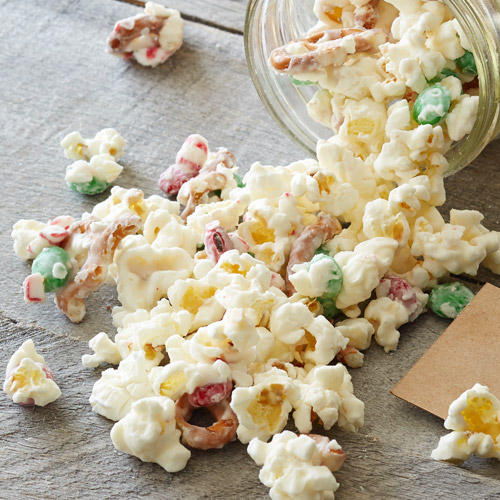 Edible Gifts - Popcorn Crunch - Holiday Recipes | Pampered